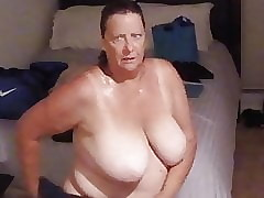 BBW GRANNY Inspection SHOWER