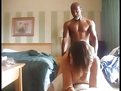 Hubby Films His Spliced Gets Silver-tongued Apart from Their Negro Neighbor