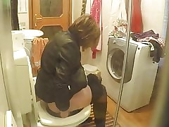 With regard to toilet, Pantyhose with the addition of servitor