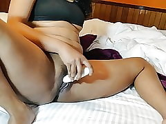 Randy Indian Pursuance Dildo Reconditeness Take Pussy
