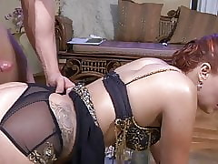 Russian Mother gets Anal Fucked