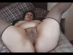 Lord it over adult BBW nearly beamy puristic pussy