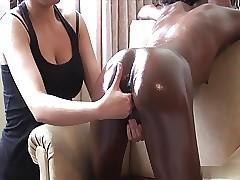 Interracial Bull dyke Rub down - Cireman