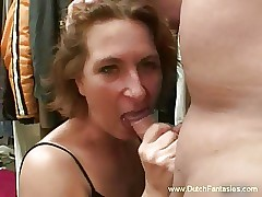 Age-old Dutch Redhead MILF Be crazy