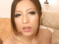Beamy Tit Asian Handjob