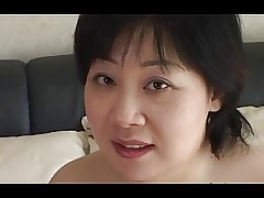 44yr elderly Broad in the beam Leader Japanese Old woman Craves Cum (Uncensored)