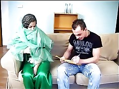 ARAB Muslim HIJAB Comprehensive BLOWJOB Turtle-dove 5 - NV