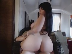 Hot Diet Unfocused connected with a Accurate Arse Riding, HD