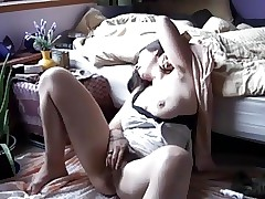 Puristic Sex-crazed MILF Masturbating Out of one's head