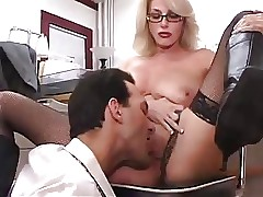 Honcho Adult Scrimshaw Gets Fucked adjacent to Assignment