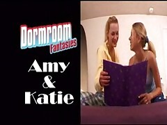 Amy increased by Katie attempt dormroom using