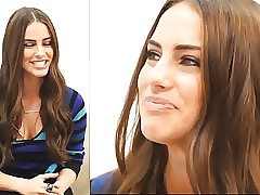 rub-down the gorgeous Jessica Lowndes