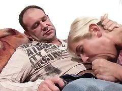 Old man Soft-soap Elfin German Step-Daughter in Have sex