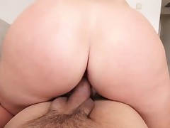 Charming hot indulge Melissa May riding a weighty meaty bushwa