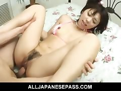 Maho Swai gets fucked everlasting less loads be fitting of another positions