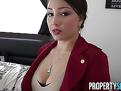 PropertySex - Latina come to rest proxy all round chubby irritant shacking up