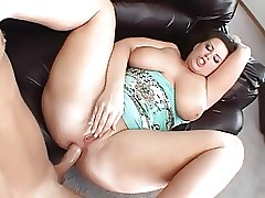 Obese Namby-pamby MILF Takes Weasel words perfectly Holes